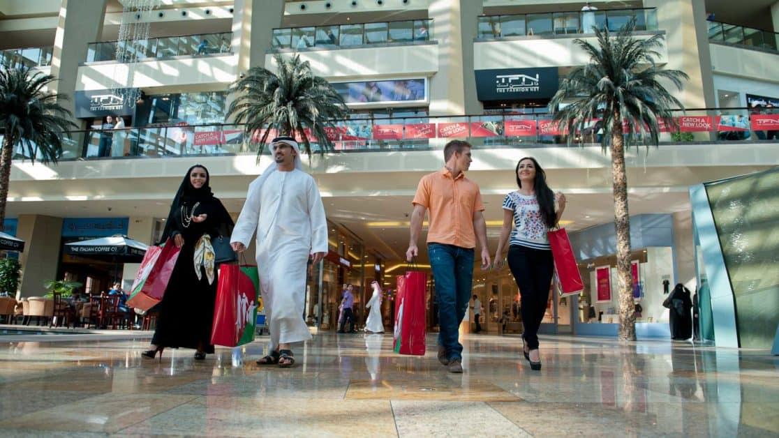 dubai malls dressing